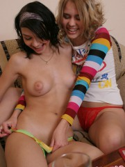 Cute Abigail Fooling Around With Her Best Friend - Picture 3